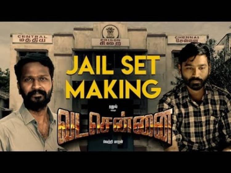 VADACHENNAI - Jail Set Making Video
