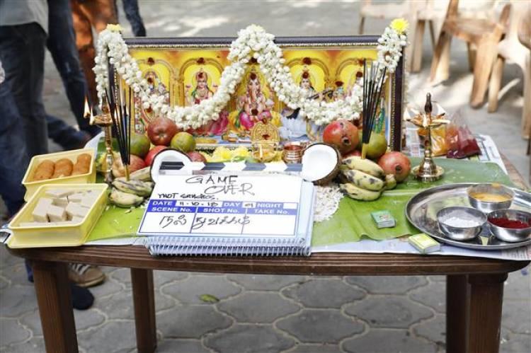 """""""GAME OVER"""" Movie Pooja Stills"""