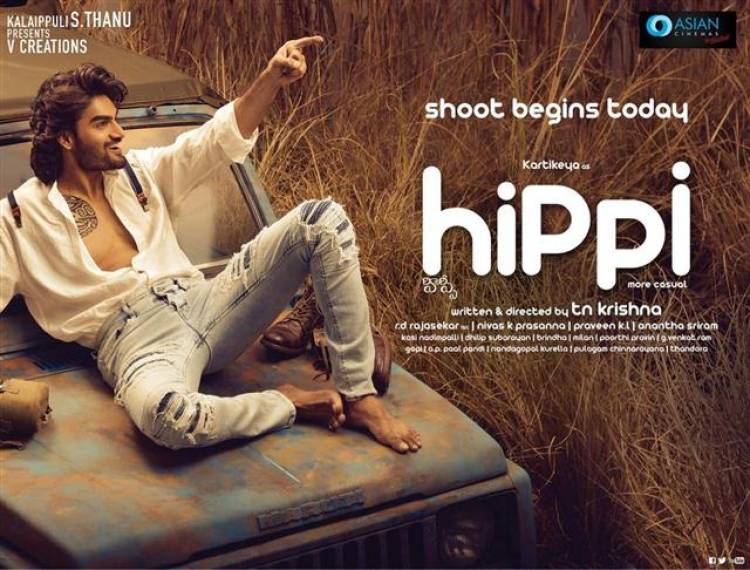 "Kalaipuli S. Thanu's ""HIPPI"" Shoot Begins Today"