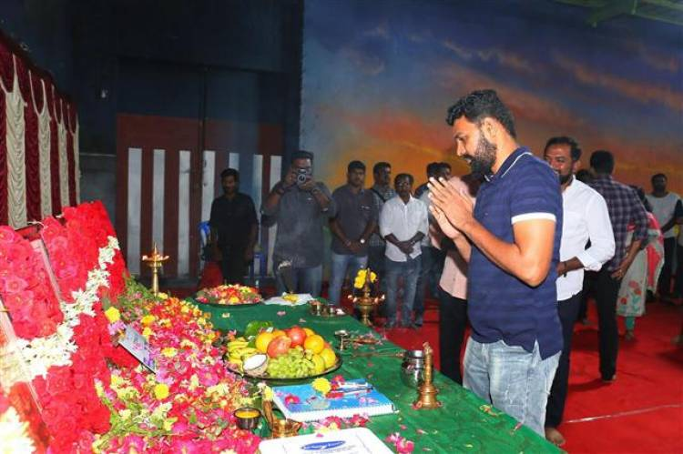 "DREAM WARRIOR PICTURES 21 JYOTIKA STARRER ""PRODUCTION NO.21"" KICK-STARTS WITH RITUAL POOJA"