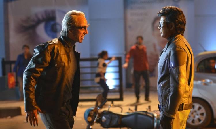 """""""2.0"""" Movie Latest Working Stills"""