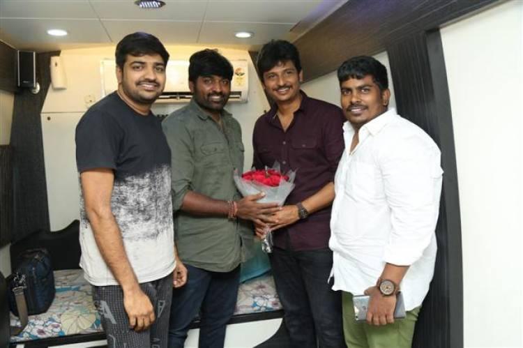 Makkal Selvan surprises visit!