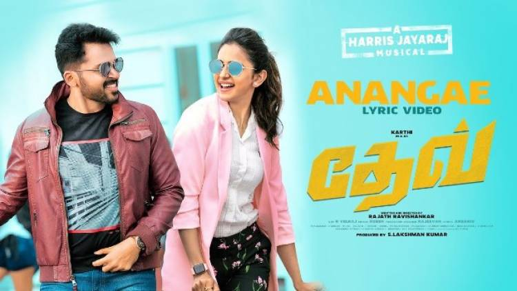 "ANANGA - FIRST SINGLE FROM ""DEV"" GETS HUGE RESPONSE"