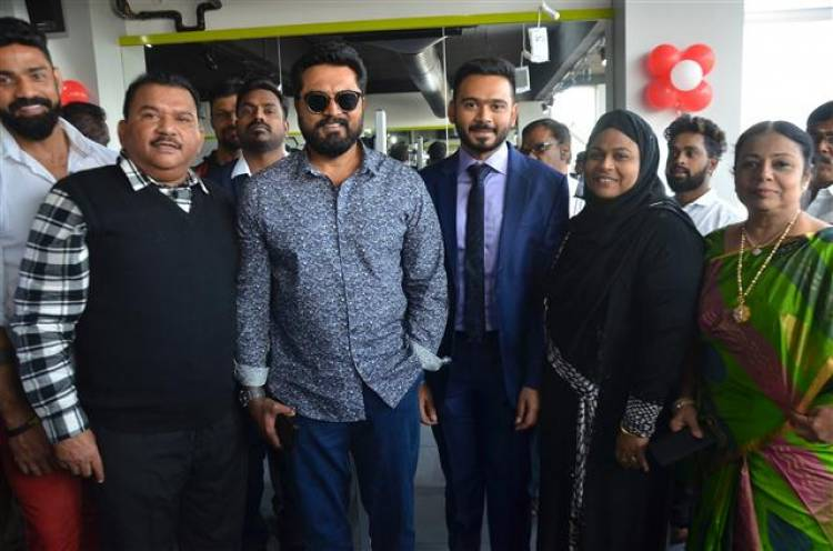 Actor Sarathkumar Inaugurated Flux Fitness Studio At OMR Today