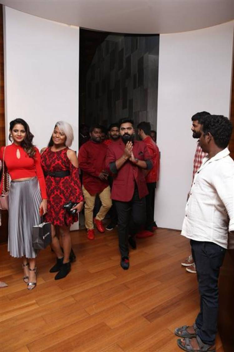 Exclusive Stills of STR's Birthday Party 2019