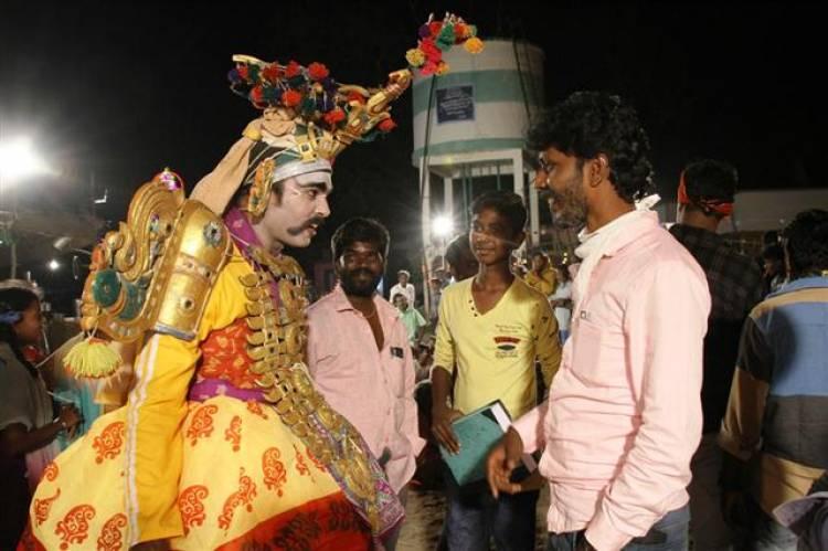 """Peechaankai"" fame actor R.S Karthick production no.1 movie stills"