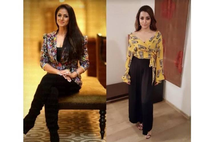 Trisha and Simran signed for action adventure movie