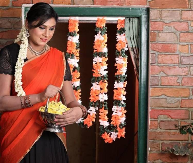 Actress Puvisha's Latest Photoshoot Stills
