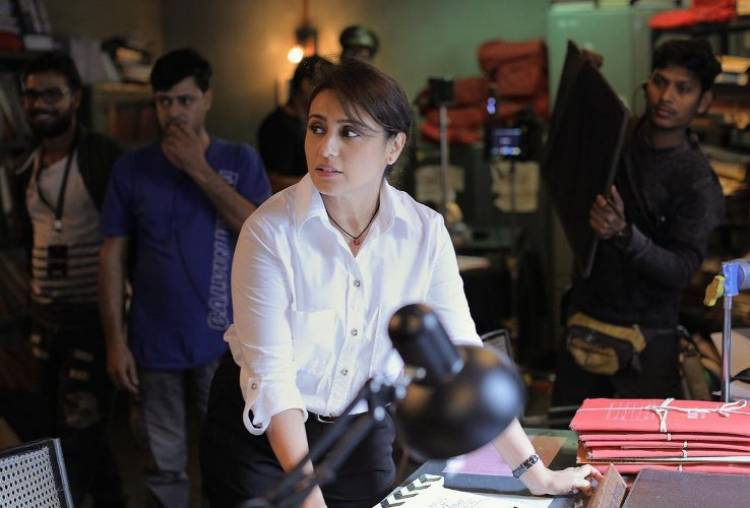 "Rani Mukerji 's ""Mardaani 2"" begins"