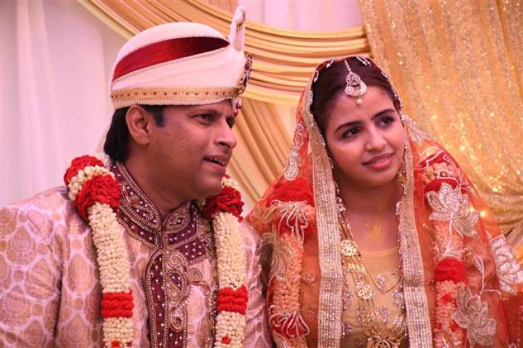 Actor ICE Ashok and Alima Jat Wedding Stills