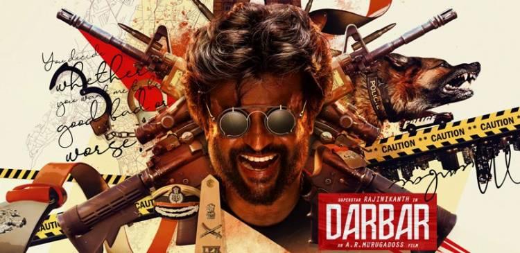 """Rajinikanth's """"DARBAR"""" First Look Posters"""