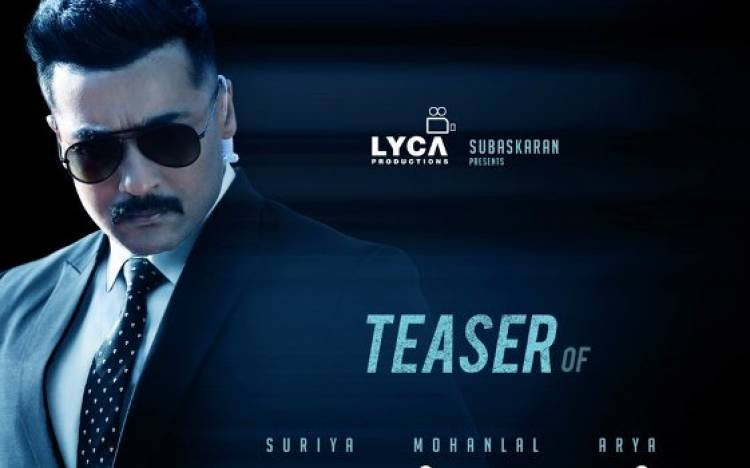 """Kaappaan"" Teaser from Tomorrow"