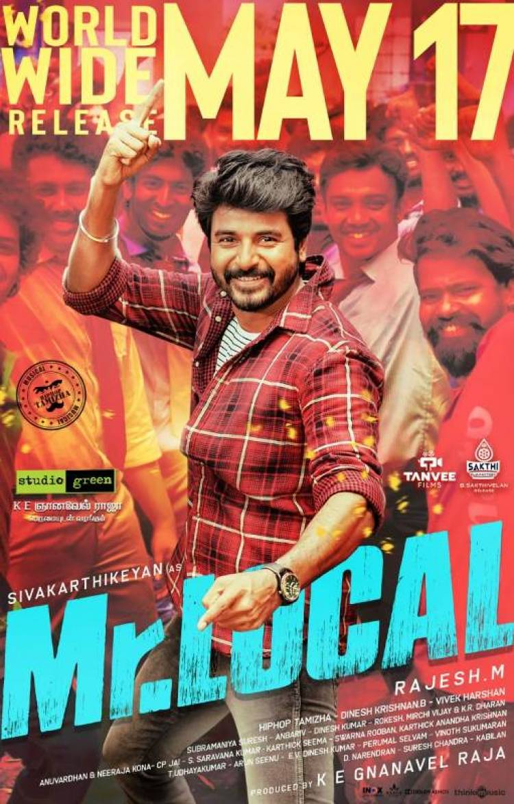 "Sivakarthikeyan's ""Mr Local"" release date Confirmed"