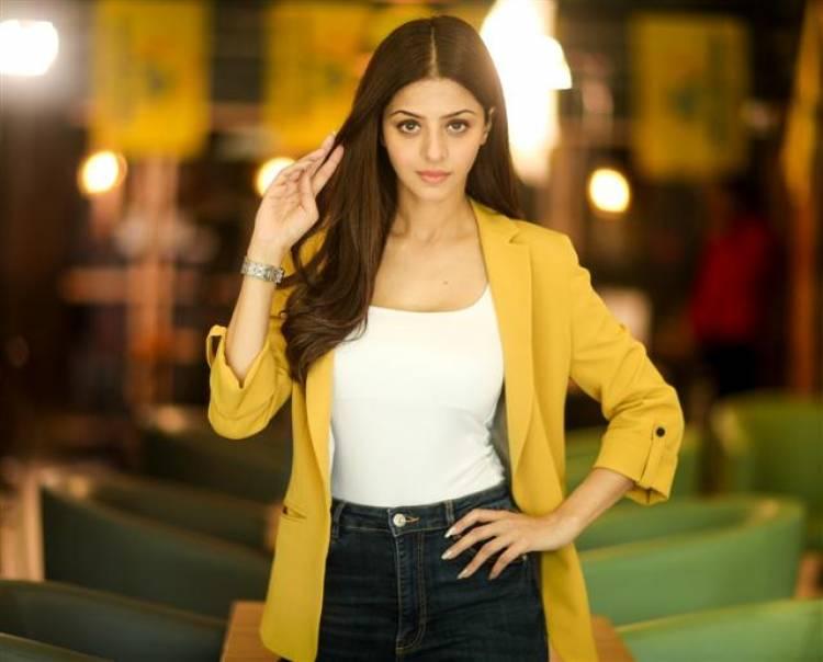 Stunning New Photoshoot Stills of Actress Vedhika