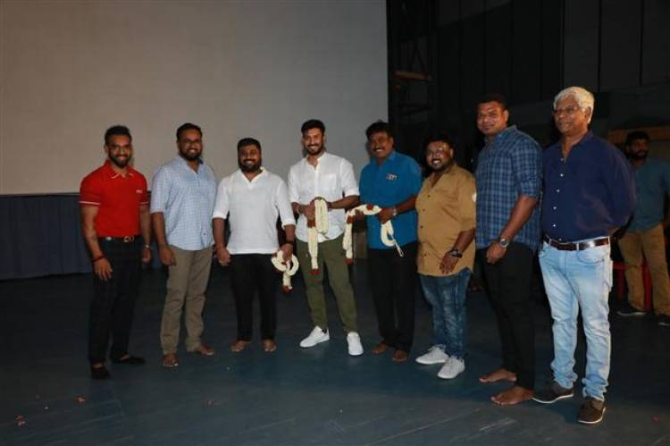 Arvind Swamy - Director Santhosh P. Jayakumar New Movie Launch Stills