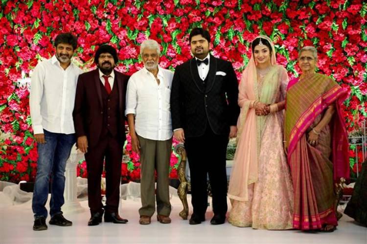 T.R.Kuralarasan - Nabeelah R Ahmed Wedding Reception Stills