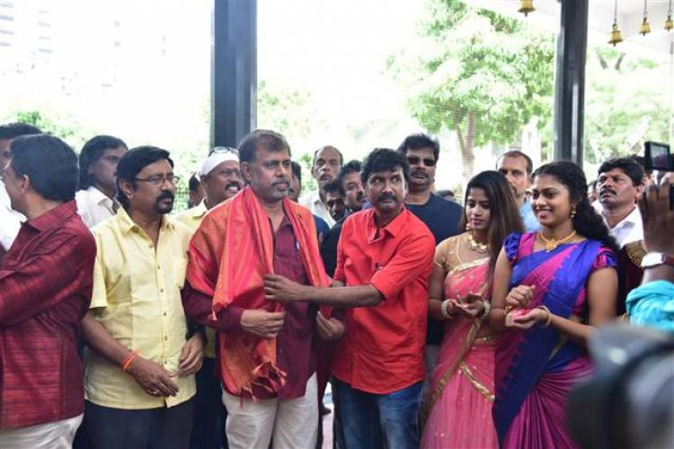 """Udukkai"" Movie Pooja Stills"