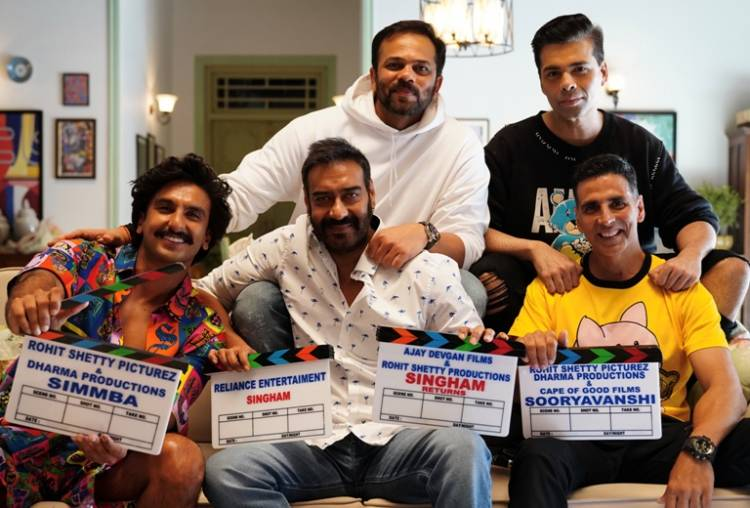Rohit Shetty expands his cop universe with Sooryavanshi