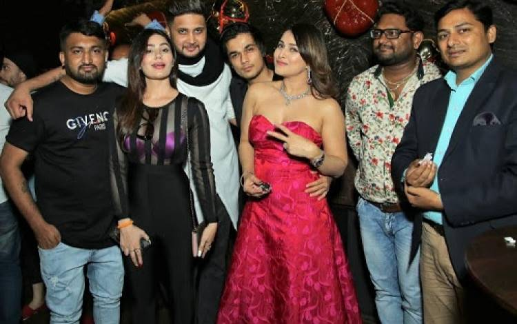 Pakkhi Hegde Celebrated her Birthday with Industry Friends