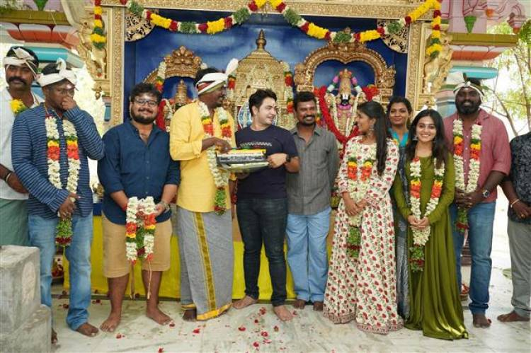 """Ka Pae Ranasingam"" Movie Pooja Stills"