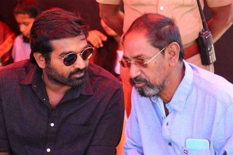 Vijaysethupathi's 33rd Movie Pooja Stills