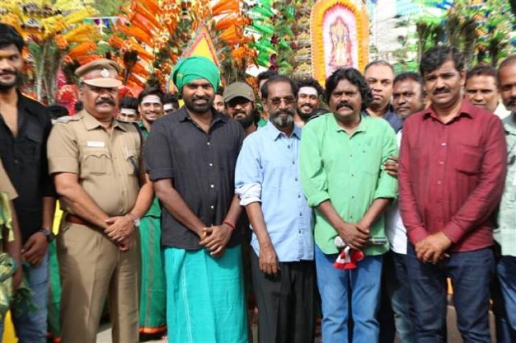 Vijaysethupathi's 33rd Movie Pooja Stills