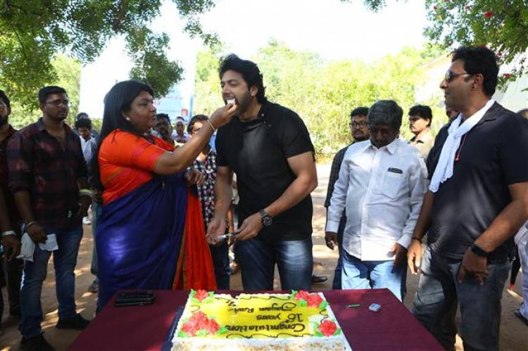 JAYAM RAVI's 25th Movie Pooja Stills