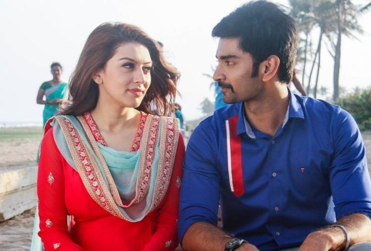 "Atharvaa Murali's ""100"" completes 50 days of 'Organic' success"