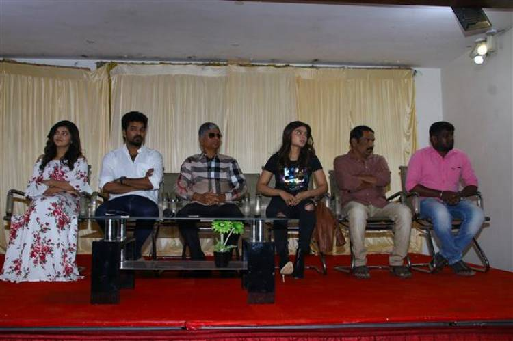 """Capemari"" Movie Press Meet Stills"