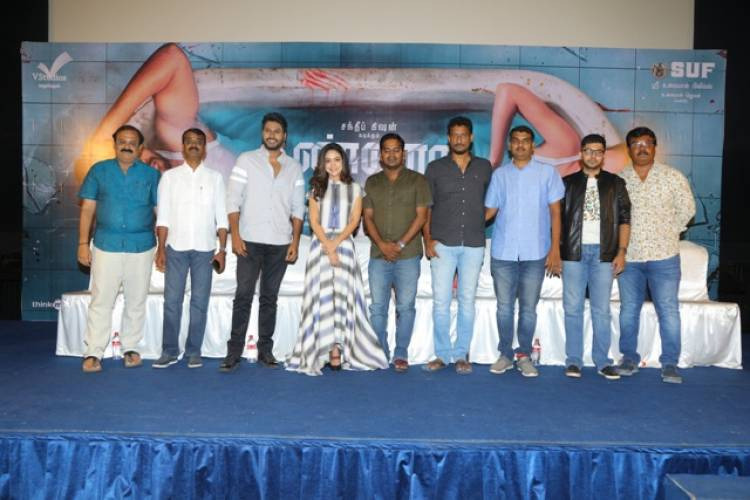 KANNADI MOVIE PRESS MEET STILLS