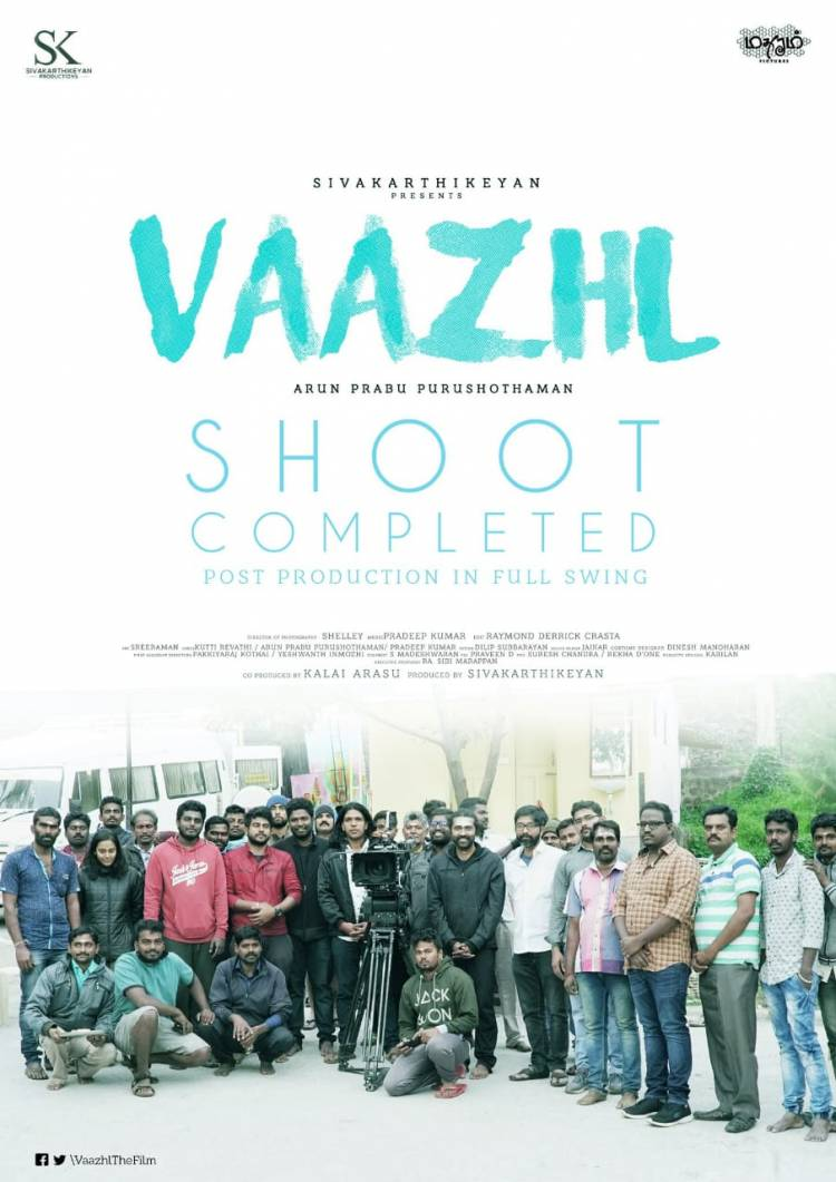 "Sivakarthikeyan's third production ""Vaazhl"" Shooting wrapped up"