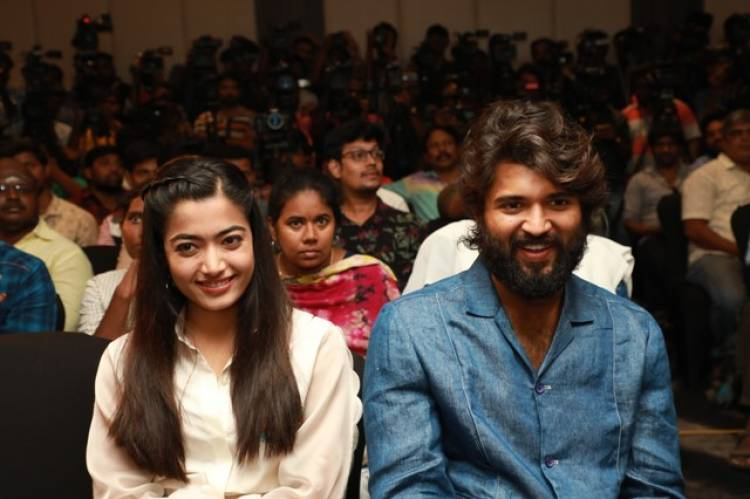 Dear Comrade Press Meet Stills