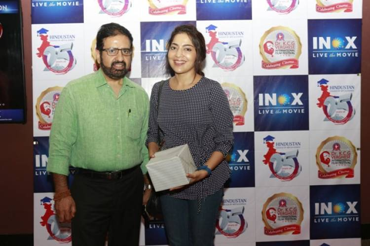Celebrities at Dr KCG Verghese International Film Festival Day 1 Stills