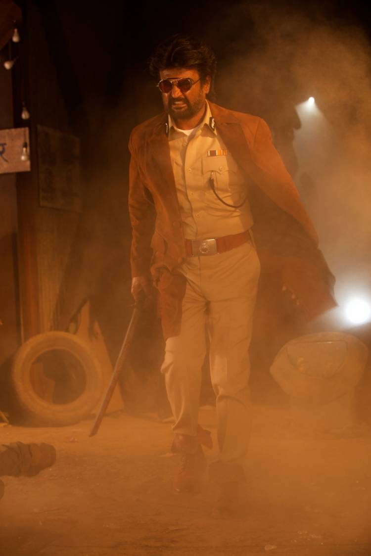 "Rajinikanth's ""Darbar"" Movie Stills"