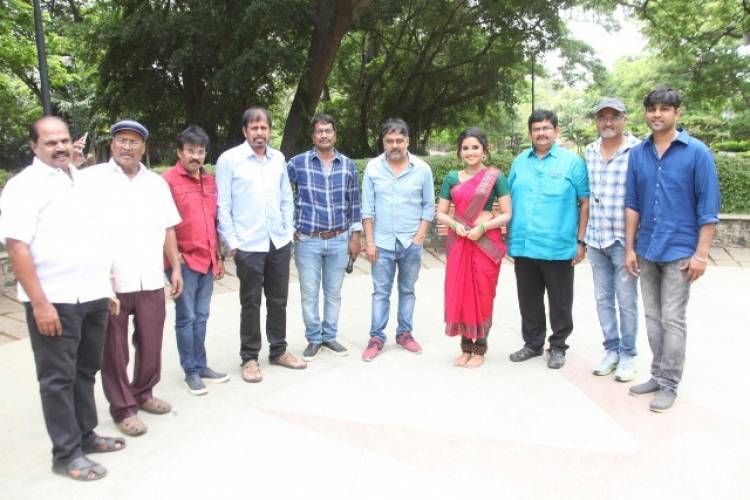 Atharvaa's Next Movie Pooja Stills