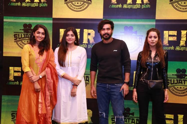 FIR Movie Pooja Stills