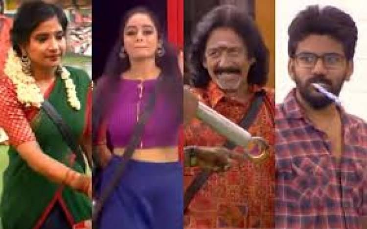 மீண்டும் பிக்பாஸ் வீட்டுக்குள் சாக்ஷி, அபிராமி, மோகன் பிக் பாஸ் புரோமோ இதோ