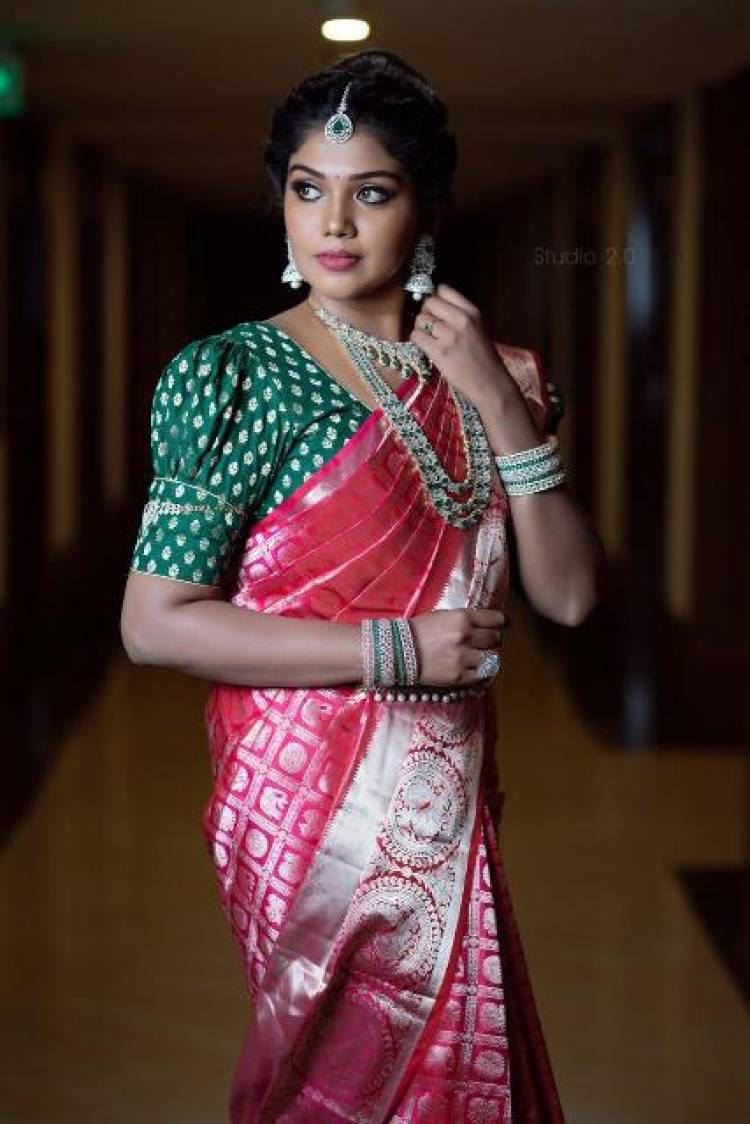 Actress Riythvika Latest Pictures