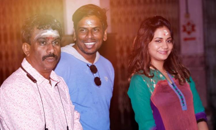 Polladha Ulagil Bayangara Game Movie Pooja Stills