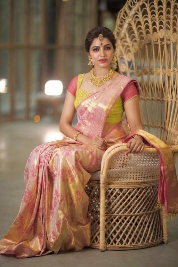 Saidhanshika Latest Stills