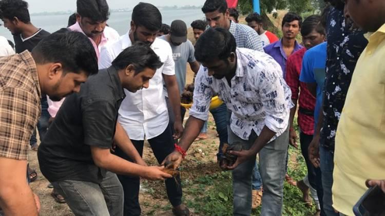 விஜய் சேதுபதி அவர்களின் 41 ஆவது பிறந்தநாளை ஒட்டி 41,000 பனை விதைகள் விதைக்கும் விழா