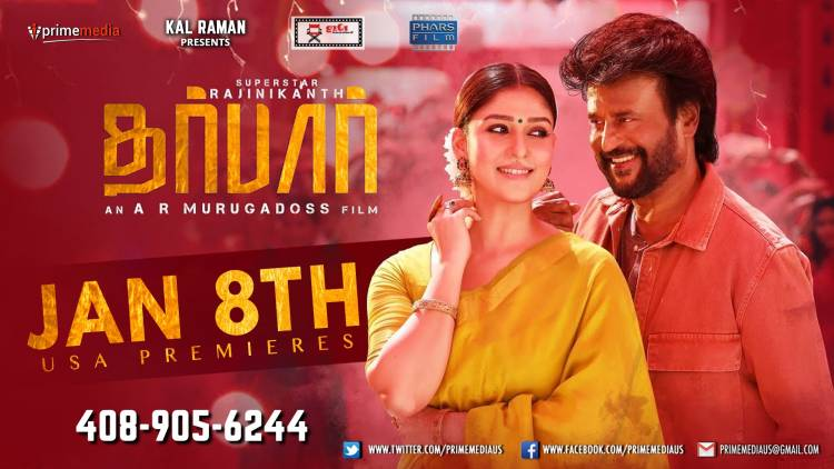 """Darbar"" Premiere Show In USA' on 8th January"