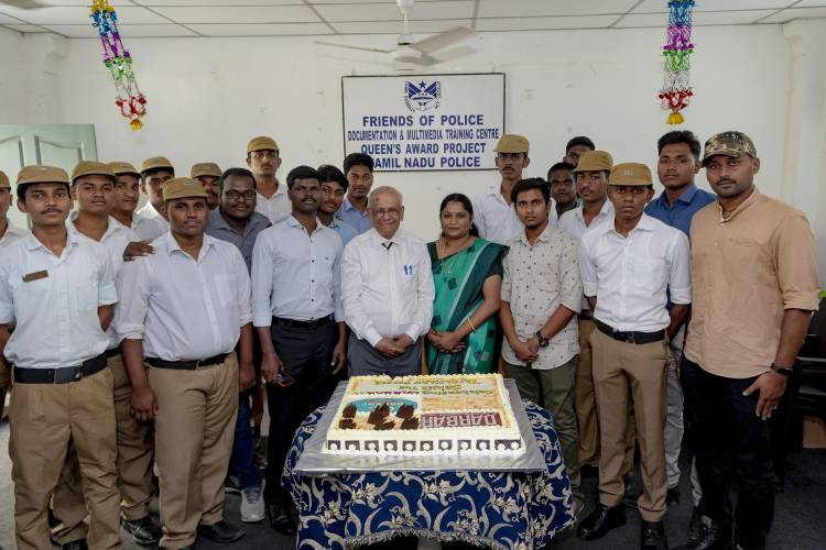 DARBAR celebrated by CK's Bakery as a tribute to Friends of Police
