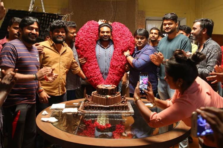 Team TughlaqDurbar Celebrated The Makkal Selvan VijaySethupathy Birthday at The Sets !!