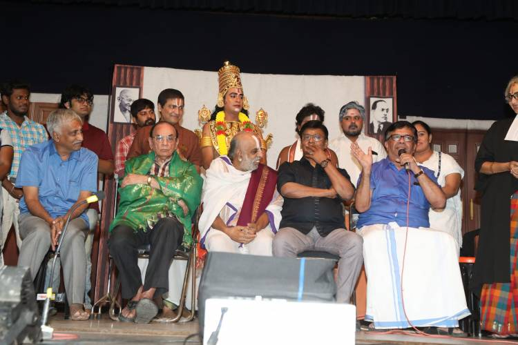 "First Sequel Tamil Stage Show Madhuvanthi M's ""Perumaale 2"""