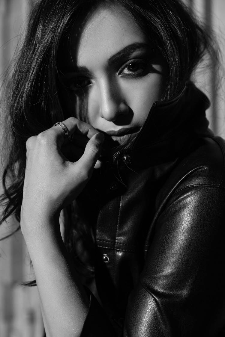 Black and White photos of Actress Catherine Tresa