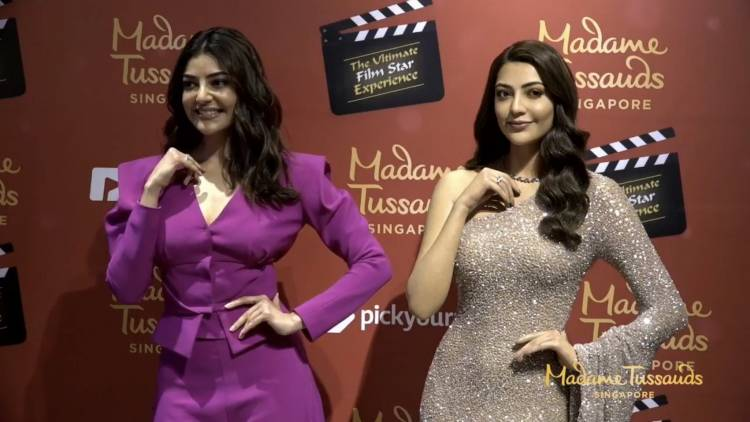 Madamme Tussauds version of Kajal Aggarwal