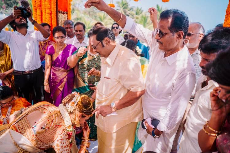 Actor Mahat Raghavendra - Prachi Mishra Wedding Stills
