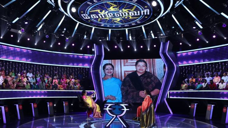 Legendary actress Padma Bhushan Dr. B. Saroja Devi to grace Kodeeswari's Hot Seat!