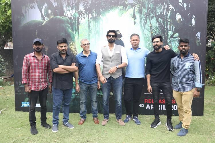 Press meet and Teaser Launch of Kaadan Movie